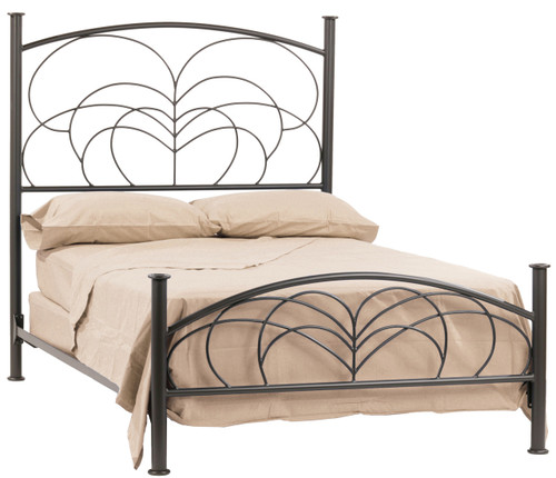 Willow Iron  King Bed