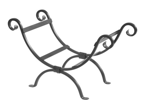 Iron Log Basket - Shepherds Crook