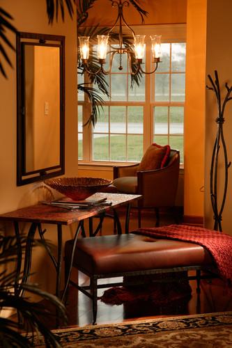 Woodland Console Iron Sofa Table