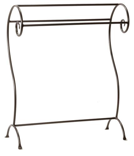 Waterbury Iron Blanket or Towel Stand- Large