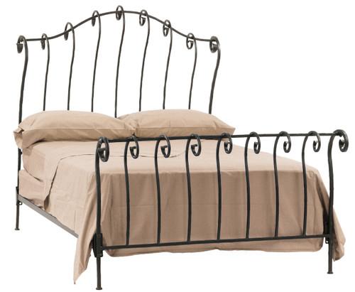 Stratford Iron Sleigh Queen Bed