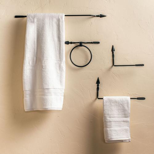 Quapaw Iron Towel Bar 24 inch