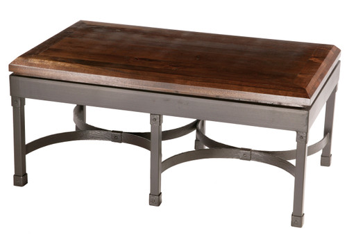 Cedarvale Iron Cocktail Coffee Table