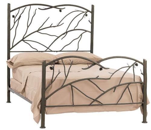 Pine Iron Full Bed