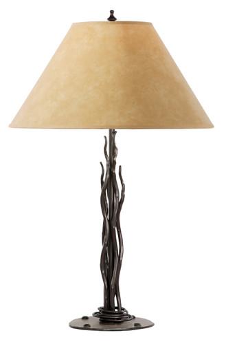 Rush Iron Table Lamp