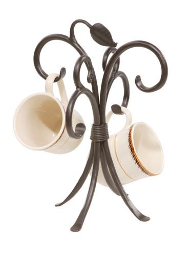 Sassafras Iron Mug Rack