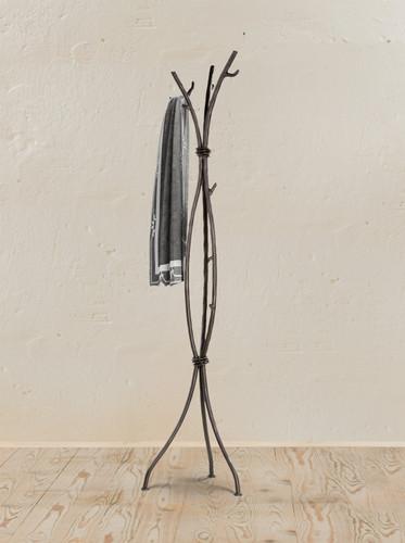 Sassafras Iron Standing Coat Rack