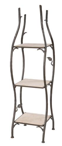 Sassafras Standing Shelf Single Width 3 Tier