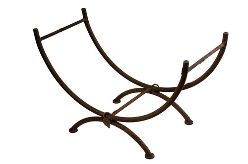 Whisper Creek Iron Log Basket