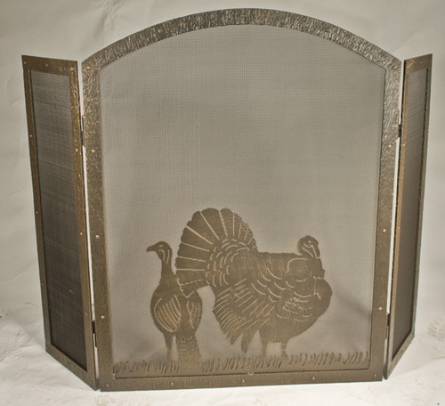 Custom Turkey Fire Screen