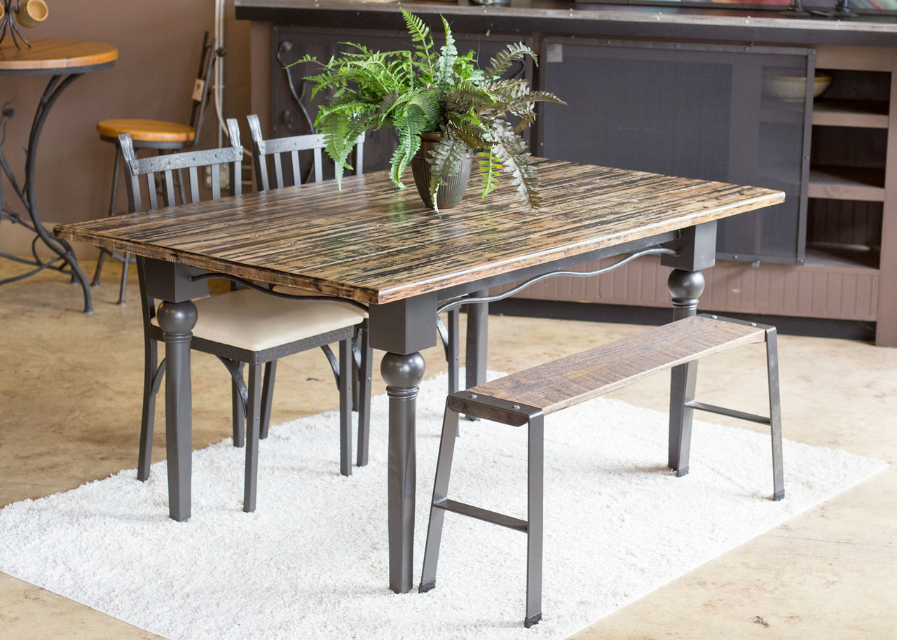 Farm Table Dining Set Custom Dining Table And Chairs