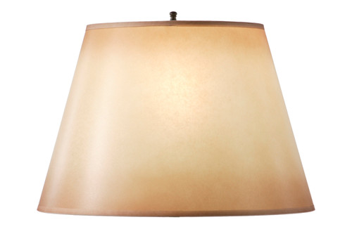 Amber Glow Hand Forged Iron Table Lamp Shade 14 Inch By 9 Inch
