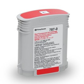 Pitney Bowes 787-0 Red Ink for SendPro P and Connect+ Series Postage Meters