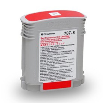 Pitney Bowes 787-8 Red Ink for SendPro P and Connect+ Series Postage Meters