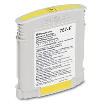 Pitney Bowes 787-F Genuine Yellow Ink for SendPro P and Connect Series