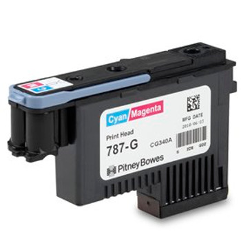 Pitney Bowes 787-G  Cyan/Magenta Print Head for SendPro P and Connect Series