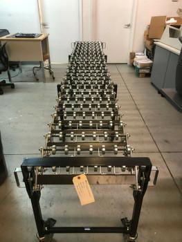 "Best® Gravity Conveyor - 18"" x 12'  Adjustable"