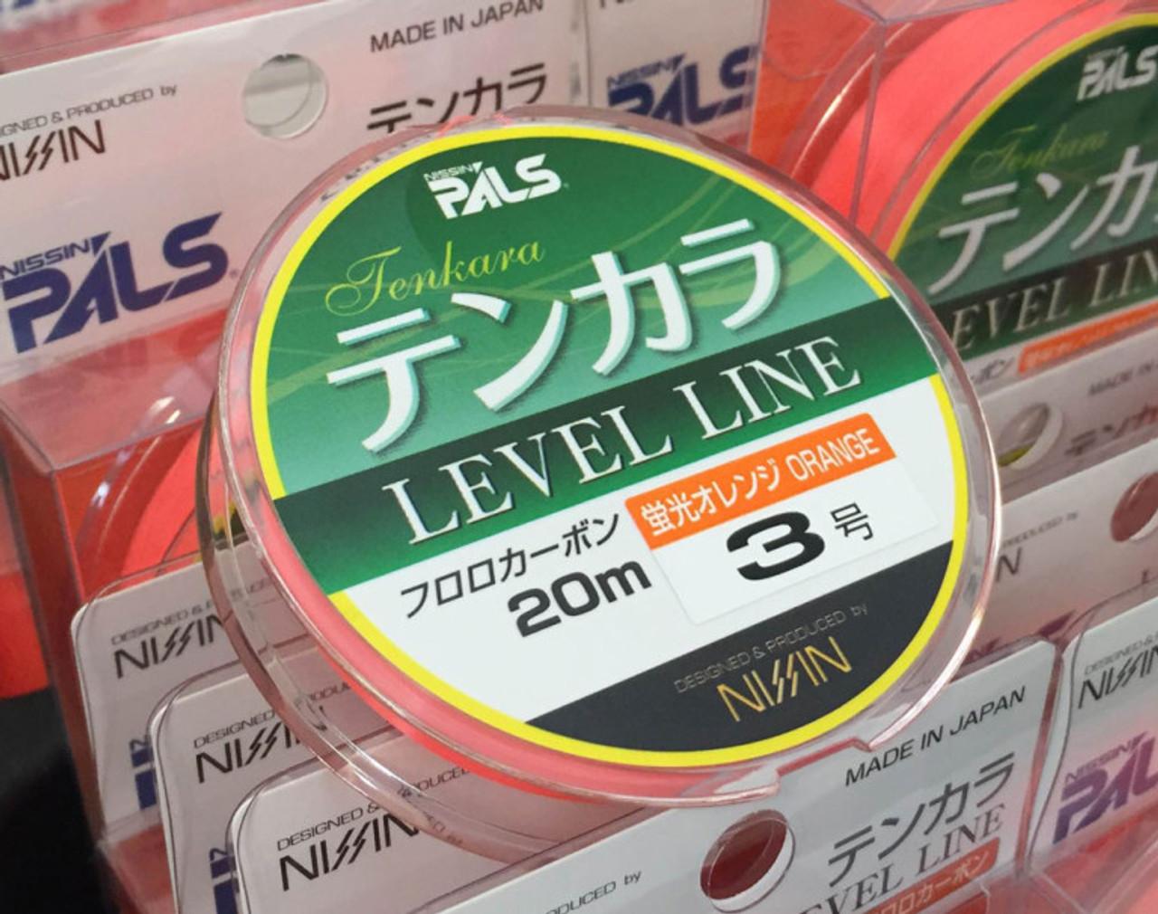 New Nissin tenkara Level Line Orange #4