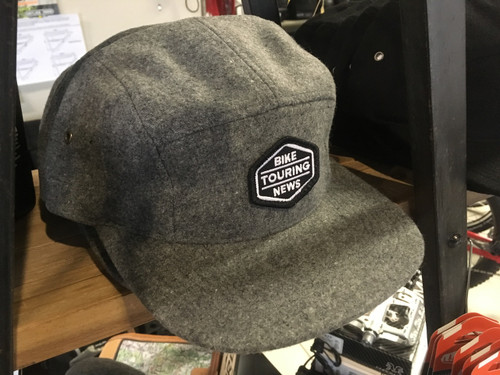 Bike Touring News 5-Panel Wool Camper Cap