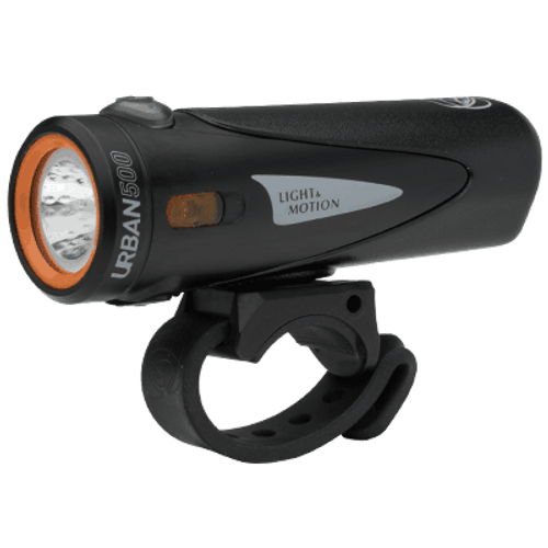 Light  & Motion Headlight-Urban 500 Onyx