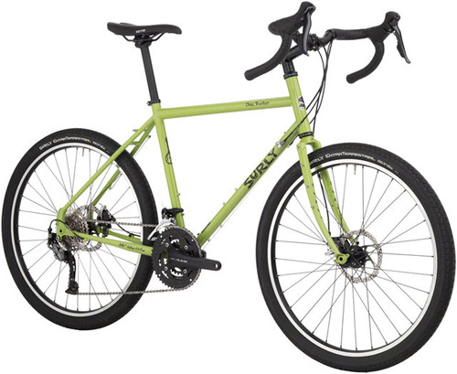 "Surly Disc Trucker Complete Bike, 26"", 54cm, Pea Lime Soup"