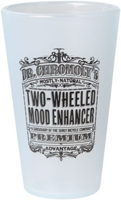 Surly Dr. Chromoly's Silicone Pint Glass