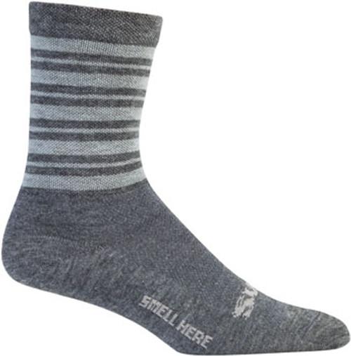 "Surly ""Stripey"" Wool Socks"