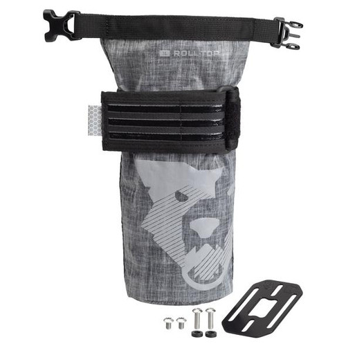 Wolf Tooth B-RAD 1L Teklite Roll Top Dry Bag with Mounting Plate