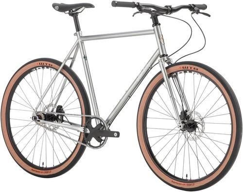 All-City Super Professional Single Speed Complete Bike, 650b - 49cm, Quicksilver