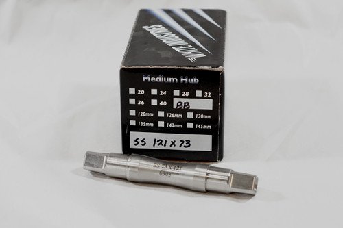 White Industries Bottom Bracket Spindle - 73 x 121mm