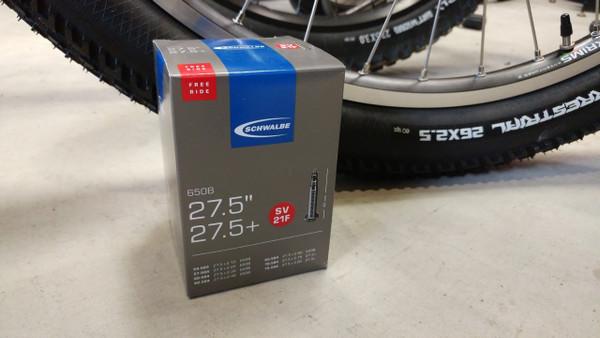 Schwalbe tube for plus tire bikes