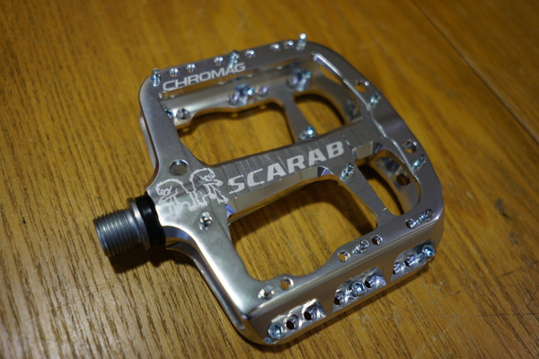 Chromag Scarab Platform Pedals, Silver