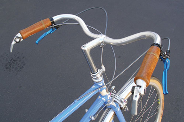 Nitto Albatross bike handlebars comfortable for more upright riding position