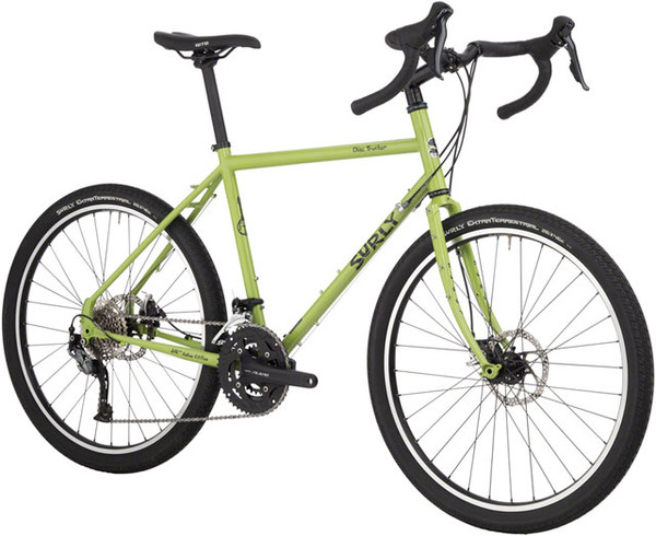 """Surly Disc Trucker Complete Bike, 26"""", 54cm, Pea Lime Soup"""