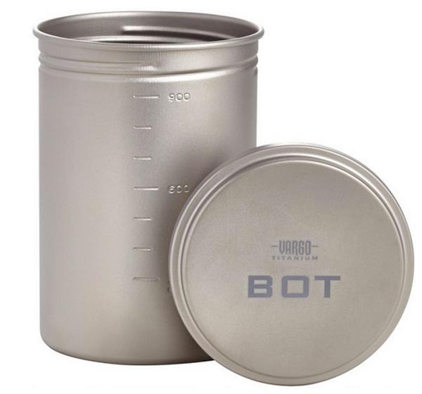 "Vargo Titanium ""BOT"" Bottle Pot"