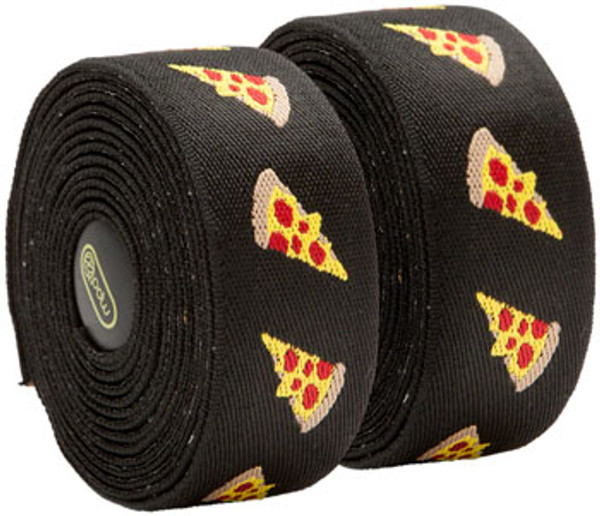 PDW Handlebar Tape with Silicone Pizza, Donuts or Tacos