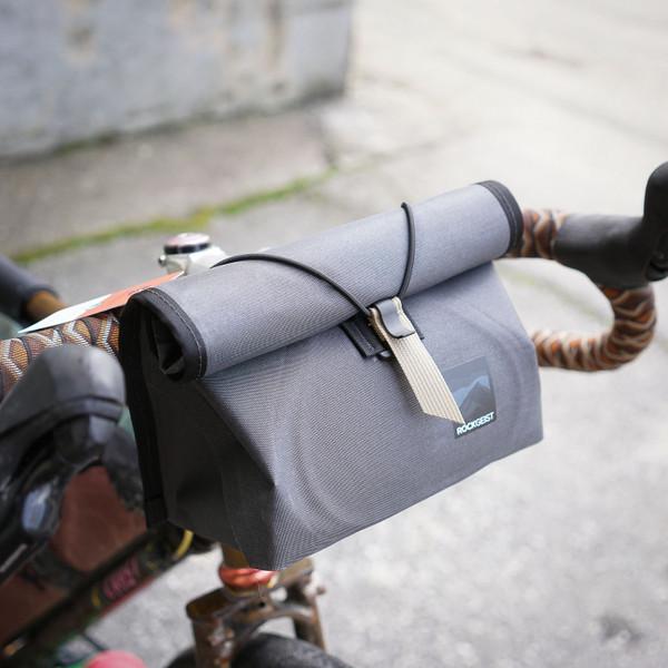 Rockgeist Nigel Handlebar Bag - Porcelain Rocket Series