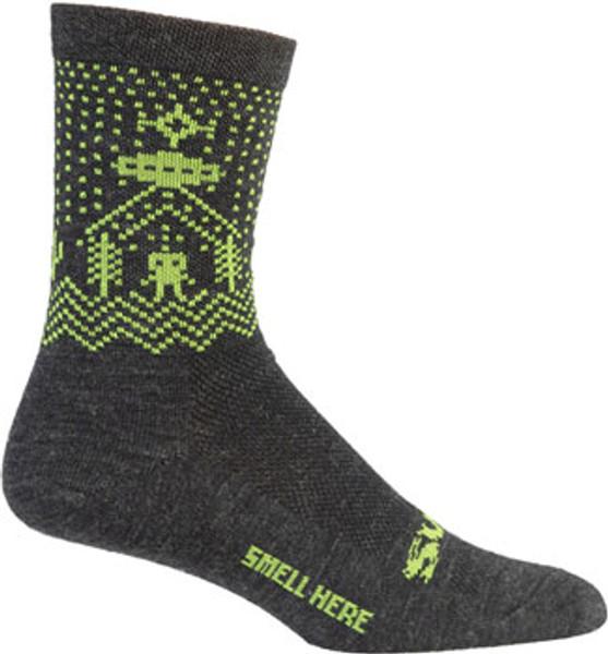 "Surly ""Beam Me Up"" Wool Socks"