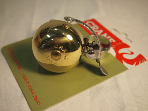 Crane Suzu Mini Headset Mount Brass Bell
