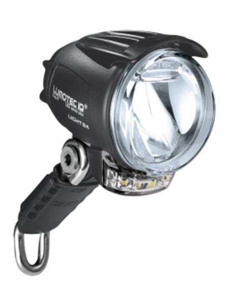 B+M Lumotec IQ Premium Cyo T headlight with running lights and standlight.