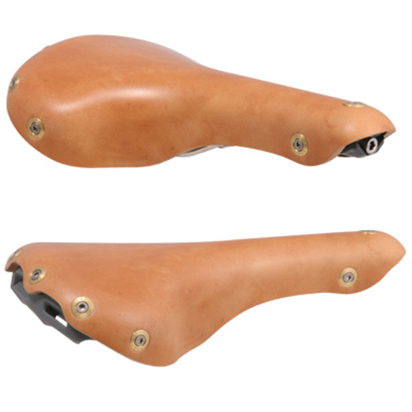 "Aspin Gilles Berthoud Saddle ""Natural"""