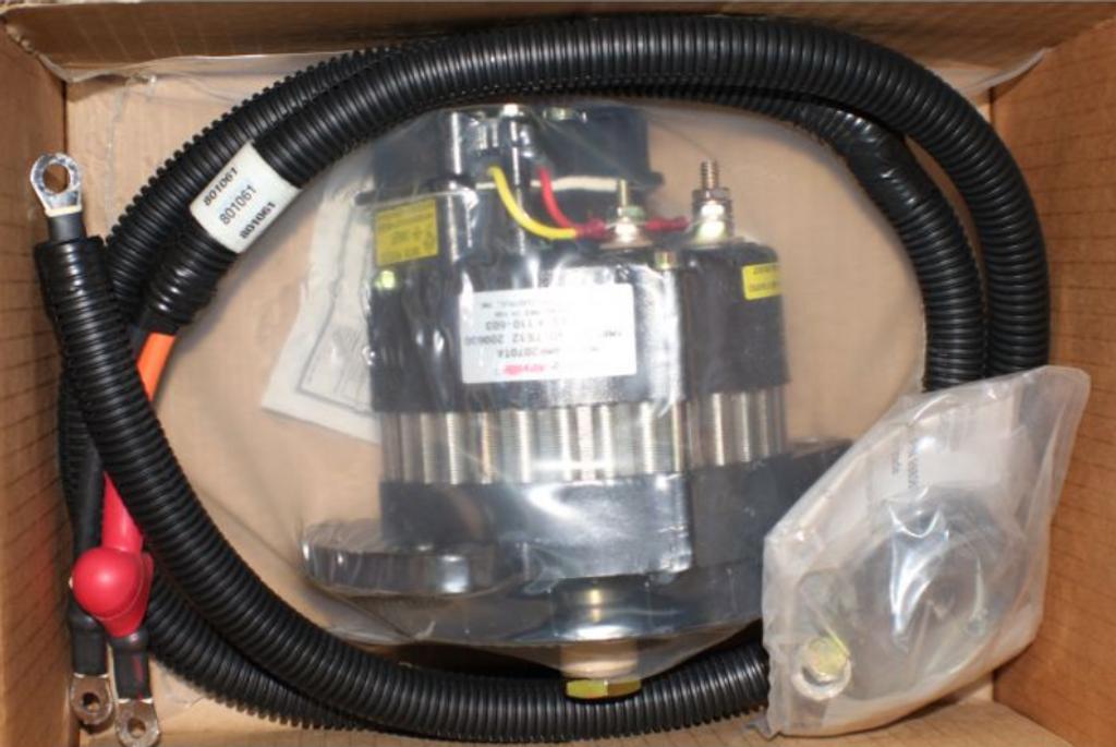 Alternator Upgrade Kit - 90 AMP (V-belt),495105