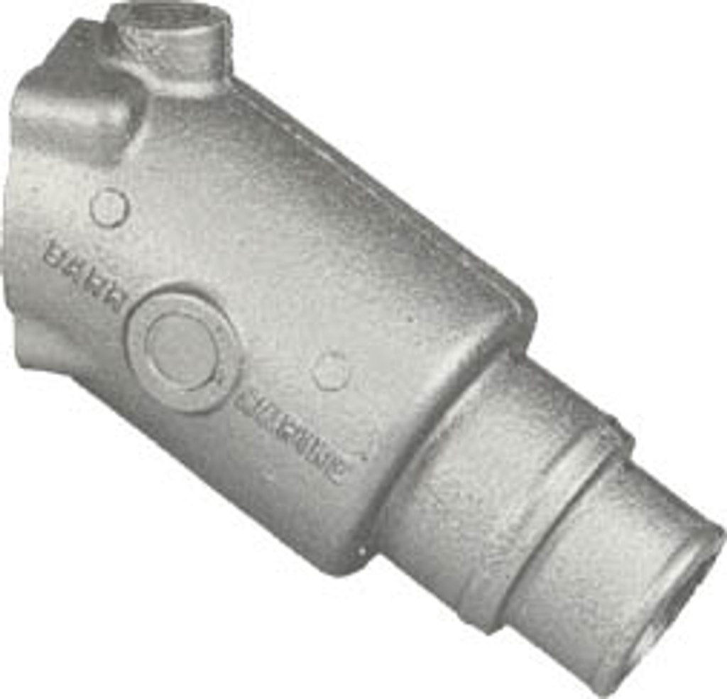 30 Degree Exhaust Connector,20-0055
