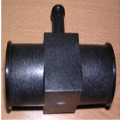 """1""""X1"""" Hose Fitting connection TEE W/ .375 Barb./601043"""