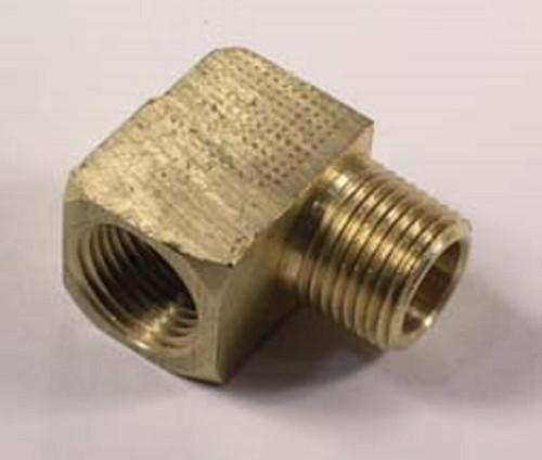 "3/8"" Brass Fitting (90 degree), 605026"