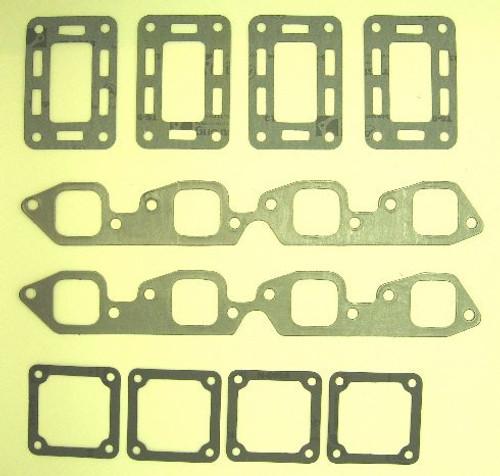MerCruiser Exhaust Manifold (V8) Gasket Set,MC47-27-46820A1