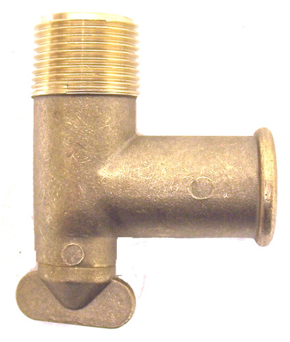 MerCruiser Drain Cock Fitting (brass),MC-50-806926