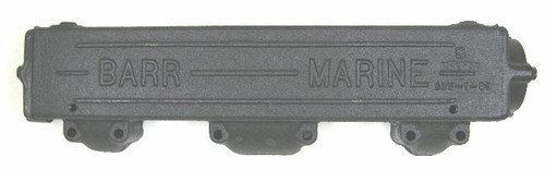 Cheverolet Exhaust Manifold Log Style (starboard side-right),CHV-1-63R