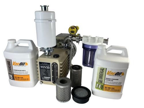 7 CFM Professional Vacuum Pump Package