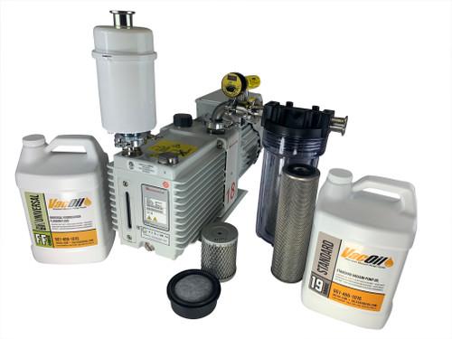 12.1 CFM Edwards E2M18 Professional Vacuum Package